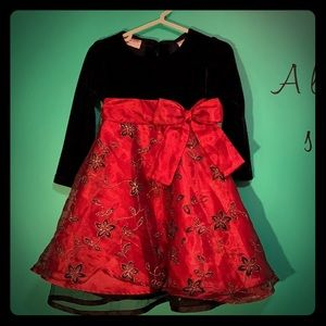 Blueberi boulevard black and red dress